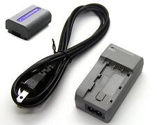 7.2v 1150mAh Li-ion Battery Pack + Charger for SONY DCR-SR90 DCR-SR100 HDR-HC3 E