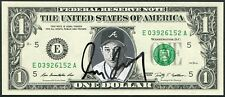 GREG MADDUX SIGNED ONE DOLLAR BILL W/ HIS PHOTO IMAGE CUBS BRAVES 4X CY YOUNG