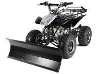 Quad ATV mit Schneeschieber Schneeschild Räumschild 100cm Kinderquad aufgebaut