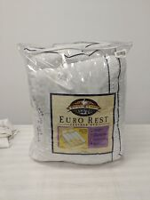 Pacific Coast Euro Rest Feather Bed Queen- Customer Return