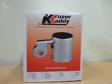 Kruzer kaddy Satin Polished Motorcycle Cup Holder Harley, Honda, Suzuki, Yamaha