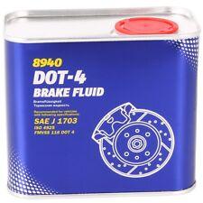 MANNOL BREMSFLÜSSIGKEIT DOT 4 BRAKE FLUID 0.5L DOT4 SAE J 1703 ISO 4925 FMVSS