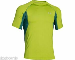 NWOT UA UNDER ARMOUR MEN'S Coolswitch Trail Top Shirt Mens L Large jx62