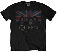 Queen 'Union Jack' (Packaged) T-Shirt - NEW & OFFICIAL!