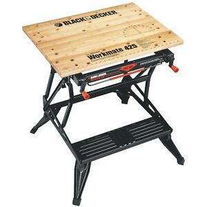 Black & Decker WM425-A Heavyweight Steel Portable Project Center and Vise