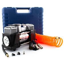 12V Druckluft Kompressor 7 Bar Elektrische Luftpumpe Autokompressor 70L/min LED