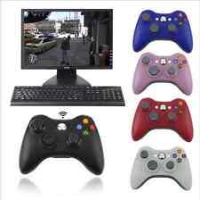 2.4G Wireless Gamepad Remote Controller Joystick Pc Reciever  Microsoft XBOX 360