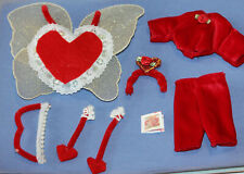 """*Vintage Cupid Valentine Outfit-Professionally Handmade For 8"""" Dolls-Exc"""