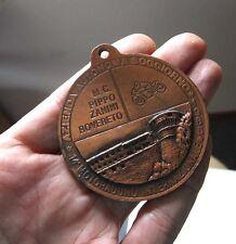 MOTO CLUB MC PIPPO ZANINI ROVERETO Plakette badge Medaille Anhänger Italien 1985