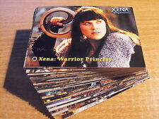 XENA WARRIOR PRINCESS SERIES 4-5 COMPLETE BASIC SET OF 72 CARDS