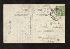 SCOTLAND 1915 ARMY PO HD PMK +COMRIE VILLAGE CDS on PPC