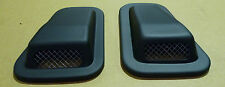 LAND ROVER DEFENDER WING TOP RAISED AIR INTAKE SCOOP WITH GRILL - PAIR