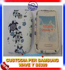 Custodia + Pellicola TPU TARTARUGHE per Samsung Wave Y S5380