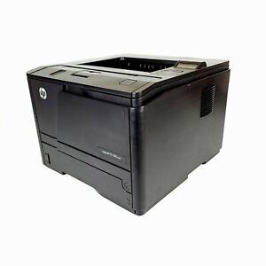 HP LaserJet Pro 400 M401n Monochrome Printer (CZ195A)  Total Impressions: 51k