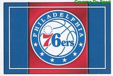 055 TEAM LOGO USA PHILADELPHIA 76ERS STICKER NBA BASKETBALL 2017 PANINI
