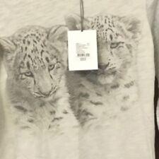 WITCHERY Girls Amazing TIGER Cat Tshirt Long Sleeve Top SZ 12 NWT Tee ++