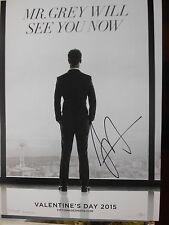 FIFTY SHADES DARKER - personally signed 16x12 - JAMIE DORNAN as Mr Grey