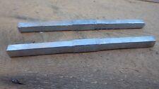 2 REPLACEMENT DOOR LOCK LATCH STEEL HANDLE SPINDLES BAR 120mm x 7mm x 7mm BOX 2