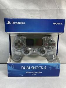 Sony Playstation 4 PS4 Controller Wireless Dualshock 4 V2 Crystal Clear Genuine