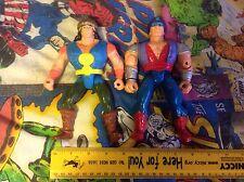 2 Conan el aventurero figuras Conan & Greywolf-Hasbro - 1992 años 90
