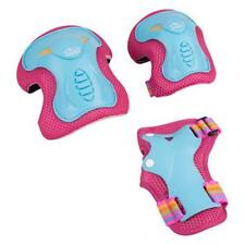 Hudora 83318 Protector Set Skate Wonders, Size:M, turquoise/pink
