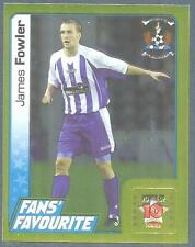 PANINI SCOTTISH PREMIER LEAGUE 2008- #313-KILMARNOCK-JAMES FOWLER-GOLD FOIL