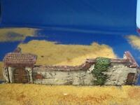 Walls and main gate. for wargame building and scenery. Lay haye saint farm 15mm