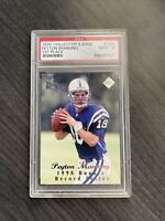 peyton manning 1998 collectors edge 1st Place Rookie PSA 9