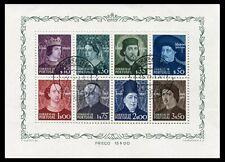 Portugal - Feuilles bloc- Année: 1949 - numéro 00014 - US Personnages