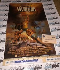 CHEVY CHASE VACATION SIGNED AUTOGRAPHED 11X17 MOVIE PHOTO POSTER-STEINER COA