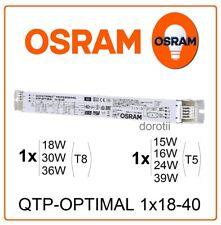 Electronic ballast QTP-Optimal 1x18-40W OSRAM T8 tube 1x18W 1x30W 1x36W 1x32W