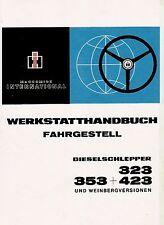 Werkstatthandbuch für IHC Traktor Schlepper 423