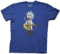 Rick and Morty Let Me Out Tiny Rick Adult Swim Funny TV Adult T Shirt