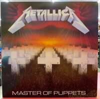 MetallicA Master of Puppets LP Record Japanese Pressing VINYL Analog from Japan