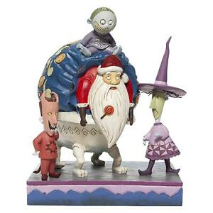 Jim Shore Lock Shock & Barrel Santa Figurine Nightmare Before Christmas Figure