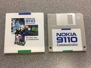 """Nokia 9110 Communicator instruction Floppy 3.5"""" Disk"""