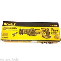 NEW IN RETAIL BOX Dewalt DCS380B 20V Cordless Battery Reciprocating Saw 20 volt