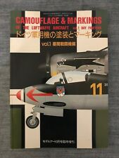 Camouflage & Markings of Luftwaffe Aircraft, Vol 1 Day Fighters Book, Japan