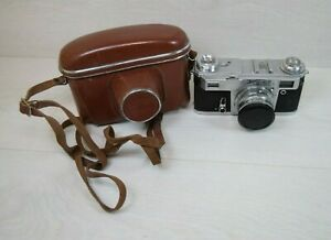 Vintage USSR KIEV Upiter 8 Lens 2/50 Film Photo Camera 1950's Not Working Repair