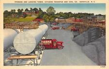 ASHEVILLE, NC North Carolina  CITIZENS TRANSFER & COAL Fuel Oil Tankers c1940's