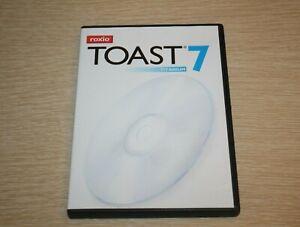 Roxio Toast 7 Titanium (Mac) [Old Version] w/ Serial Product KEY