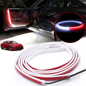 For Toyota Camry 86 Door Opening Welcome Strip LED Flashing Light Anti-collision