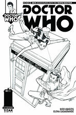 DOCTOR WHO #2 D 1:25 variant BBC new adventures tenth 10th doc 1st print TITAN