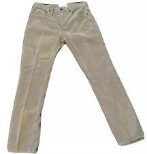 GAP 1969 Men's Jeans 28x28 SLIM Corduroy 5 Pocket Zip Fly School VGC Authentic!