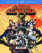 My Hero Academia: Season One (Blu-ray/DVD, 2017, 5-Disc Set)