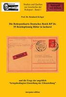 Rohrpostkarte Deutsches Reich RP 26 - 55 Rpf - Hitler in lachsrot (Krüger)