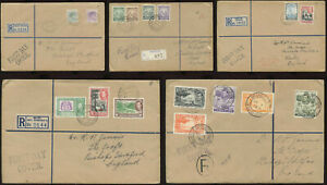 BRITISH WEST INDIES 1938 FIRST DAY COVERS KG6th.SELFRIDGES Envs.. PRICED SINGLY