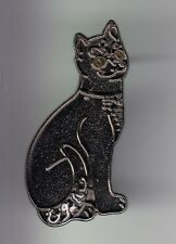 RARE PINS PIN'S .. ART NOUVEAU SCULPTURE VERRE CRISTAL CHAT CAT LUXE GALLE ~C5
