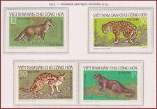 VIETNAM du NORD N°786/789** Animaux, 1973 North Vietnam 687-690 Wild Animals MNH