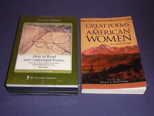 Teaching Co Great Courses CDs      HOW TO READ UNDERSTAND POETRY   new + BONUS
